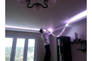 Как самому установить светодиодную ленту?