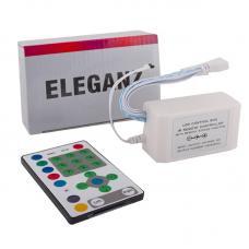 Кнопочный контроллер Eleganz для RGB LED ленты бегущая волна