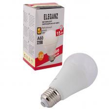 Светодиодная лампа Eleganz Е27 A60 15W