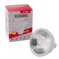 Диммируемая светодиодная лампа Eleganz GU5.3 MR16 7W 12V с отражателем