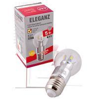 Светодиодная лампа Eleganz Е27 G45 5W
