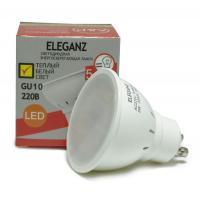 Светодиодная лампа Eleganz GU10 MR16 5W термопластик