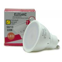 Светодиодная лампа Eleganz GU10 MR16 7W термопластик