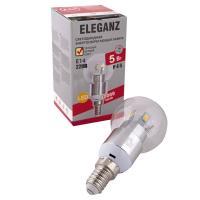 Светодиодная лампа Eleganz Е14 G45 5W