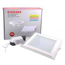 Светодиодный светильник Eleganz квадратный 12W