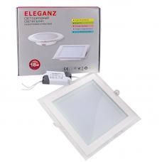 Светодиодный светильник Eleganz квадратный 18W