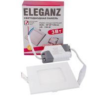 Светодиодная панель Eleganz 85*85*23 3W